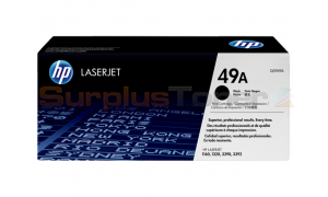 HP LASERJET 1160 1320 PRINT CARTRIDGE BLACK 2.5K (Q5949A)
