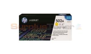HP CLJ 3600 GOV TONER CARTRIDGE YELLOW (Q6472AG)