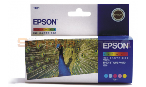 EPSON STYLUS PHOTO 1200 INKJET CART COLOUR (T001011)