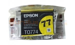 EPSON NO 77 INK YELLOW (NO BOX) (T0774)