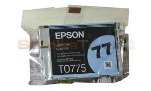 EPSON NO 77 INK LIGHT CYAN (NO BOX) (T0775)
