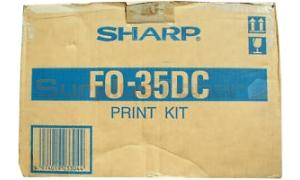 SHARP FO-3500 TONER/DEVELOPER BLACK (FO-35DC)