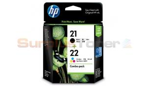 HP NO 21 22 INK BLACK COMBO PACK (CC630AA)