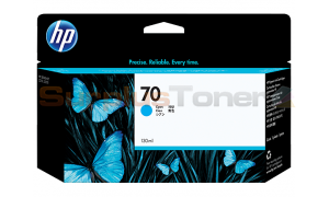 HP DESIGNJET Z2100 NO 70 INK CYAN 130ML (C9452A)