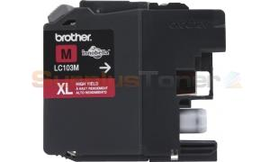 BROTHER MFC-J4410DW INK CART MAGENTA HY (NO BOX) (LC-103M)