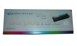 MEDIA SCIENCES TONER CYAN HY FOR OKI C3100 (MS3200C-HC)