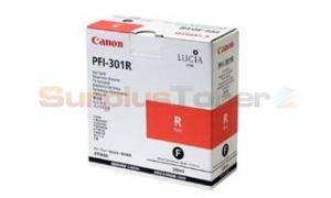 CANON PFI-301R INK RED 330ML (1492B001)