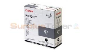 CANON PFI-301GY INK GRAY 330ML (1495B001)