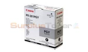CANON PFI-301PGY INK PHOTO GRAY 330ML (1496B001)