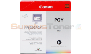 CANON PFI-302PGY PHOTO GRAY INK TANK 330 ML (2218B001)