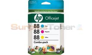 HP NO 88 INK TRI-COLOR COMBO-PACK (CC606FN)
