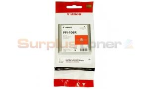 CANON PFI-106R IMAGEPROGRAF IPF6300 INK RED 130ML (6627B001)