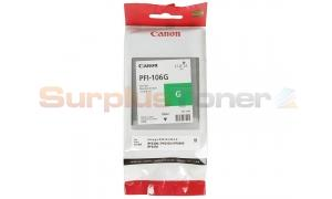 CANON PFI-106G IMAGEPROGRAF IPF6300 INK GREEN 130ML (6628B001)