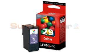 LEXMARK 29 INK CARTRIDGE COLOR RP (18C1429E)