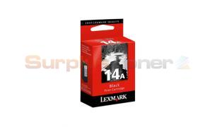 LEXMARK NO 14A PRINT CARTRIDGE BLACK (18C2080E)