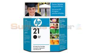 HP NO 21 INKJET CARTRIDGE BLACK (C9351AN)