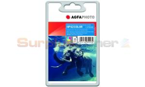 HP NO 62 INK CARTRIDGE TRI-COLOR AGFAPHOTO (APHP62C)