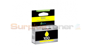 LEXMARK 100 INK CARTRIDGE YELLOW RP (14N0902E)