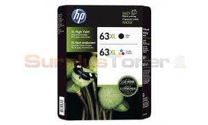 HP 63XL INK CARTRIDGE COMBO PACK (L0R44BN)