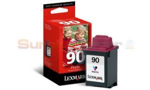 LEXMARK 3200 NO. 90 PRINT CART PHOTO COLOR (12A1990E)