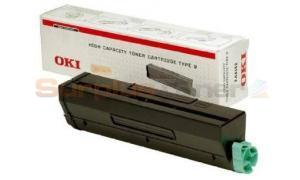 OKIDATA B4300 TYPE 9 TONER CARTRIDGE (01101202)